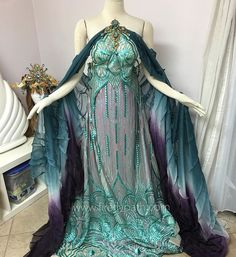 Doing some draping today on our customer Elizabeth's gown! She loved our Empress of the Elves Gown and commissioned us for a different version to wear at @lojmasquerade ✨ #fireflypath