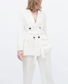 BELTED BLAZER - View all - Jacket - WOMAN | ZARA United States