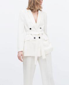 BELTED BLAZER - View all - Jacket - WOMAN | ZARA United States