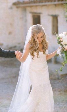 25 Elegant Half Updo Wedding Hairstyles My Wedding