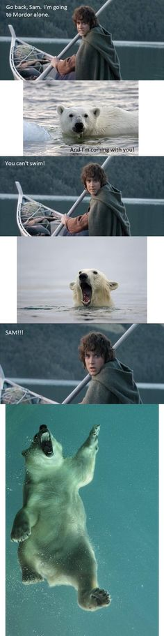 Lord of the Rings remastered. Now, with bears! Would have been much more funny to me a year ago