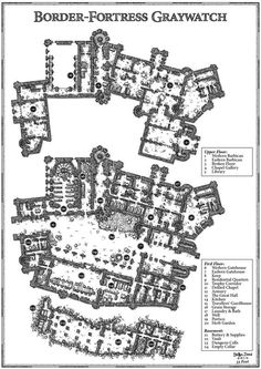 Cartographers Guild - Border-Fortress Interior Map by SteffenBrand Fantasy City, Fantasy Castle, Fantasy Rpg, Medieval Fantasy, Fantasy Artwork, Dungeons And Dragons, Fantasy Map Making, Cartographers Guild, Map Sketch