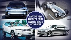 Electric vehicles revealed at various auto show in 2017 with impressive design and amazing features. Read our blog for the detailed info. #UAE
