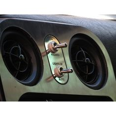 Mirror polished stainless vintage style panel with toggle switches for the hazard switch and retractable headlights lock switch.The panel is exact fit, comes with OEM connector and installs easily. Please note, the panel will fit the flat centre panels (tombstones) and not the facelift ones introduced in 95-97 in some countries.