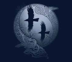 Odin's Ravens @teefury