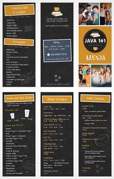 sketch menu brochure