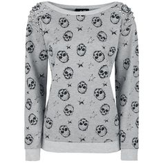 Skully Sweatshirt - Sweatshirt by Full Volume by EMP