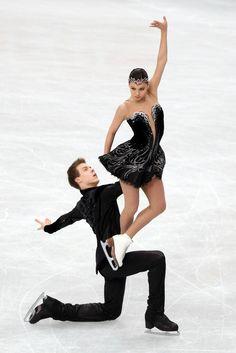 Elena Ilinykh and Nikita Katsalapov #Worlds2014