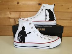 77df7769f670 50 Best Music Band Themed Converse images in 2019