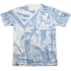"Checkout our #LicensedGear products FREE SHIPPING + 10% OFF Coupon Code ""Official"" Superman/man Of Steel Collage - Adult 65/35 Poly/cotton S/s T- Shirt - Superman/man Of Steel Collage - Adult 65/35 Poly/cotton S/s T- Shirt - Price: $24.99. Buy now at https://officiallylicensedgear.com/superman-man-of-steel-collage-adult-65-35-poly-cotton-s-shirt-licensed"