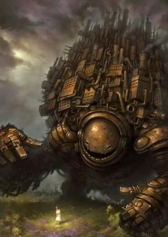 We have a selection of super cool pin-up style paintings and illustrations by the UK based fantasy artist and illustrator Matt Dixon. Arte Robot, Robot Art, Art And Illustration, Steampunk Illustration, Fantasy Kunst, Fantasy Art, Matt Dixon, Arte Peculiar, Steampunk Kunst