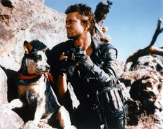 After Mad Max 2 (The Road Warrior), Dog went to live with Max Aspen the stunt… Mad Max 2, Mad Max Fury Road, Fiction Movies, Science Fiction, Aussie Cattle Dog, Cattle Dogs, Aussie Dogs, Mad Max Mel Gibson, The Road Warriors