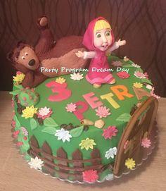 Masha and Bear cake Masha i medved torta