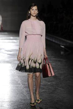 Prada's Spring collection - in pink!