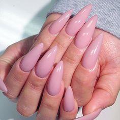 malishka702_nails's Instagram posts | Pinsta.me - Instagram Online Viewer. Pretty pink stiletto nails! #pinknails #stilettonails