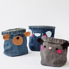Milk Carton Organizer - Pysselbolaget - Fun Easy Crafts for Kids and Parents Small Pen, Easy Crafts For Kids, Kids And Parenting, Upcycle, Sewing Projects, Coin Purse, Jeans, Milk, Wallet