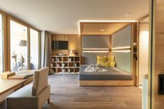 Hotel Gitschberg, South Tyrol: Crowning glory - LIFESTYLEHOTELS Forest Hotel, Hay Barn, South Tyrol, Forest Floor, Hotel S, Stone Flooring, Contemporary Design, Architecture Design, Living Spaces