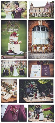 wedding themes Elegant Harry Potter Wedding in France - French Wedding Style Wedding Goals, Wedding Shoot, Wedding Themes, Wedding Styles, Our Wedding, Wedding Planning, Dream Wedding, Wedding Decorations, Wedding Ideas