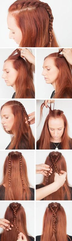 Sansa Stark Braids | 18 DIY Game of Thrones Inspired Hairstyles that will turn you into a medieval princess!