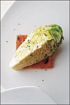 Butter Lettuce Quarters With Creamy Citrus Dressing and Garlic Toast Recipe Details | Recipe database | washingtonpost.com