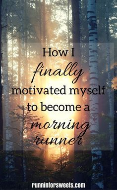 How I Finally Made Morning Running a Habit | Accomplishing Goals | Creating a Habit | Running Motivation