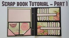 Scrap book Tutorial Part 1 by Srushti Patil WOW what a great bunch of pages!