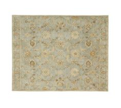 Gabrielle Persian-Style Rug - Blue | Pottery Barn- $699 for 8x10