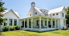 90 incredible modern farmhouse exterior design ideas (8)