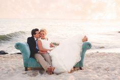Trendy DIY Cape May New Jersey Real Wedding | Trendy Bride Wedding Blog #beachweddings #capemay