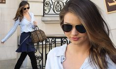 Miranda Kerr out in NYC in raunchy thigh-high boots without son Flynn http://dailym.ai/Rqdcyt #DailyMail