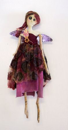Cloth+Doll+Artistry | ... dolls in an article in cloth paper scissors i think it was in the fall