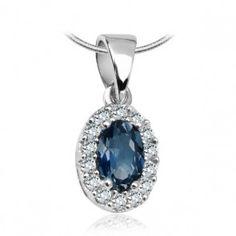 Srebrny wisiorek z cyrkonią - Biżuteria srebrna dla każdego tania w sklepie internetowym Silvea