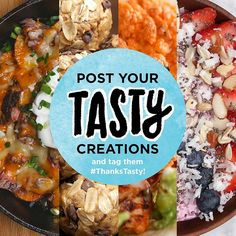 We are looking for your Tasty food! Tag your creations #ThanksTasty. We may choose your pic and feature it on Buzzfeed.com!