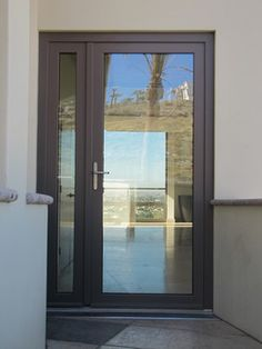 Tilt and Turn Windows and doors. French door with opening side lite. contemporary-patio