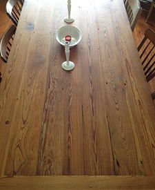 This Is Beautiful Restoring Texas   Dining Room Table Made From Reclaimed Barn  Wood