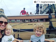 Repost @meghenmelena  Destination today... Plymouth Massachusetts. It was so fun exploring and seeing the Mayflower! #fulltimefamilies #mamaofboys #letexplore #ditchingsuburbia #newstate #melenasdventures