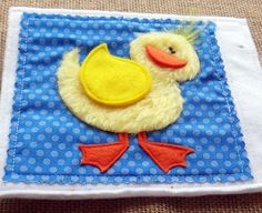 I'm excited to share the .PDF PATTERN for Rainbow Farm- a touch and feel quiet book for your child. (Rainbow Farm is the FIRST in my series of simple quiet books for the littlest ones.) This adorable quiet book will be a SENSORY experience for your child. It features 8 farm animals cut from TEXTURAL fabrics. Identify the colors of each animal, then practice color matching by placing the REMOVABLE pieces on the correct animals. All the removable pieces can be stored in the cute barn POCKET…