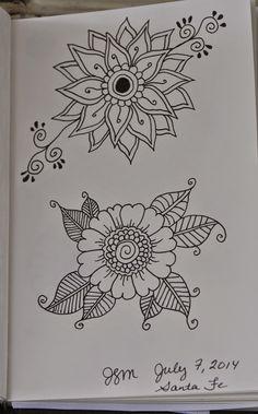 Flower Doodles frieda louise