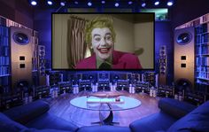 """Batman (1966) never looked or sounded BETTER!    - Kipnis Studio Standard (KSS) - Ultimate Home Theater -    WINNER on DIY Network's """"Price It Out: Jaw Dropping Spaces"""" Shootout (April 2012) !!!"""