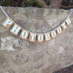 "Guirlande ""photobooth"" kraft 15.9"
