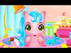 Baby Pony Caring Hair Salon My Little Pony Dress Up Makeover Caring Games My_Little_Pony Up Hello everyone!