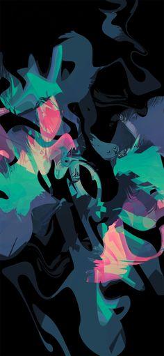 Splash AMOLED Wallpaper 1080×2340