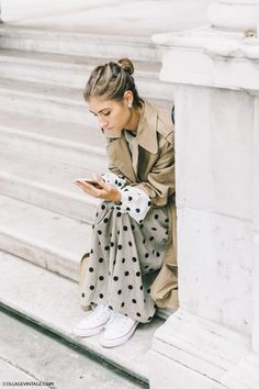 Chic #streetstyle I've picked all my favourite street style looks from fashion week - check out my post on irislillian.com xx