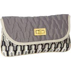 cinda b Melrose Clutch Empire Slate - cinda b Manmade Handbags