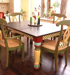 Mackenzie~Childs Inspired table