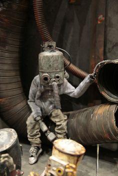 Steampunk-esque figurine  スチームパンクっぽいフィギュア Design Festa