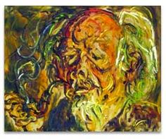 Self portrait (1981), Affandi (1907 – May 23, 1990) is a famous painter from Indonesia. In certain respects, he has acknowledged similarities with Vincent van Gogh.