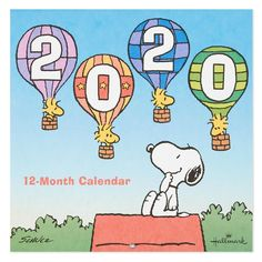 From Hallmark Keep it light with a wall calendar for your home or office featuring the beloved Peanuts gang. Each month contains a cartoon panel that's sure to keep the days in perspective and a smile on your face. Snoopy Happy New Year, Happy New Year 2020, Peanuts Cartoon, Peanuts Snoopy, Snoopy Cartoon, Snoopy Und Woodstock, Charlie Brown Y Snoopy, Snoopy Wallpaper, Snoopy Quotes