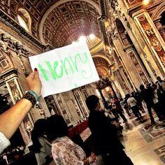 Henry is St Peter's Chapel in The Vatican