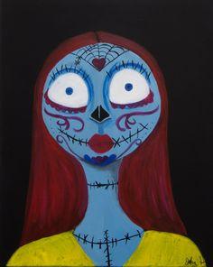Sally De los Muertos by JohnBVisualDesign on Etsy